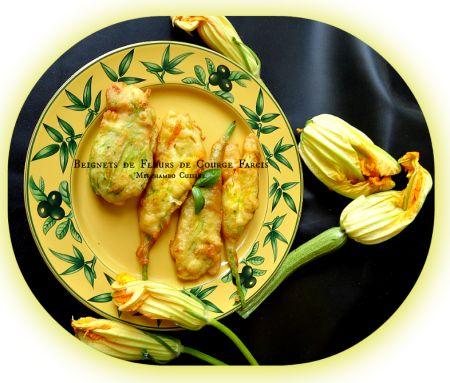 La Marraine du mois : Beignets de fleurs de courgette farcies à la ricotta de Mie – Miechambo cuisine http://miechambo.canalblog.com/archives/2014/06/20/29986747.html