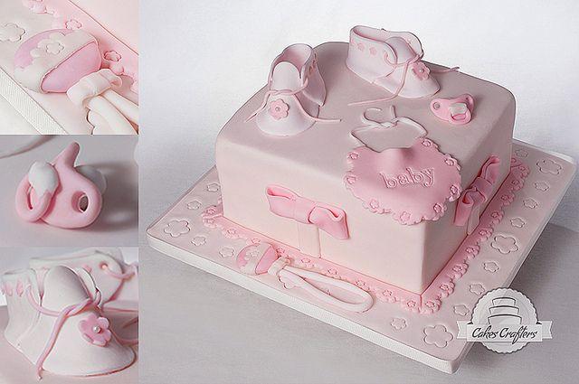 Baby Girl Cake   Flickr - Photo Sharing!
