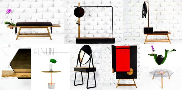 Flaunt Concepts. New. Designer. Furniture. Modern. Contemporary. Product designers. Minimalist.