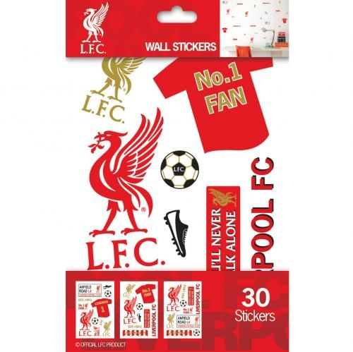 liverpool wall stickers FC Liverpool Official Merchandise Available at www.itsmatchday.com