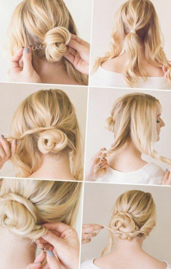 Einfache Hochsteckfrisuren Kurze Haare Selber Machen Http