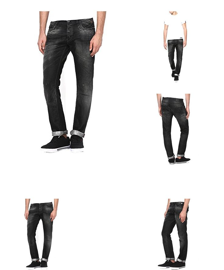 5702808204073 | #Jack  #038; #Jones #Clark #Original #Black #Runner #Herren #Jeans #Hose #8804 #Größe #W28  #8211; #W36, #schwarz