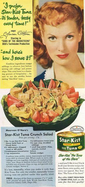 Chronically Vintage: Wonderful Wednesday Recipes: Crème fraiche, Sweet Corn & Tuna Penne