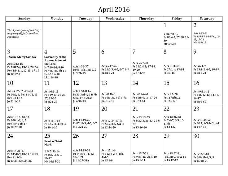 Weekly Reading Calendar : Best catholic daily readings ideas on pinterest