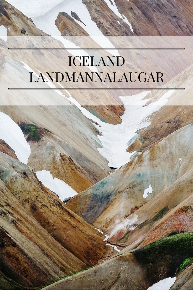 Have you ever seen colored mountains? Travel to Iceland and hike in Landmannalaugar! See our blogpost for more photos and info.