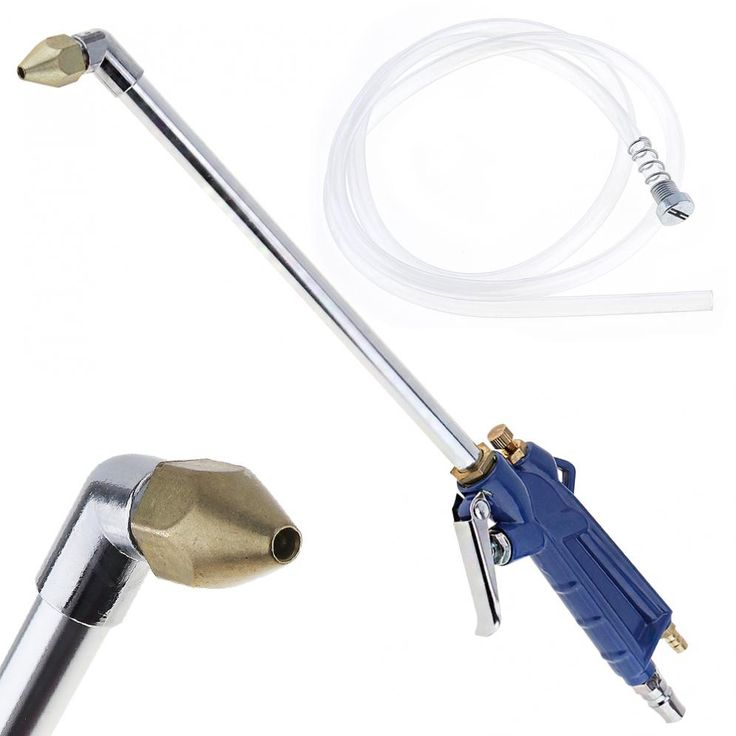 16 Inch Washing Car Engine Oil Way Pneumatic Cleaning Gun with 5 x 8mm Flexible Pipe and Press Type Switch. Yesterday's price: US $12.01 (9.88 EUR). Today's price: US $12.01 (9.93 EUR). Discount: 30%.
