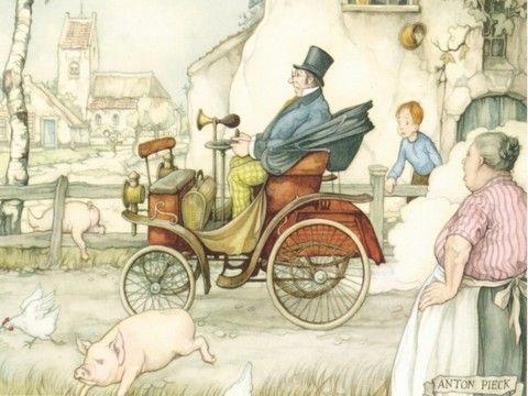 Anton Franciscus Pieck ( Den Helder , 19 april 1895 – Overveen , 24 november 1987 ) was een Nederlands kunstschilder , tekenaa...