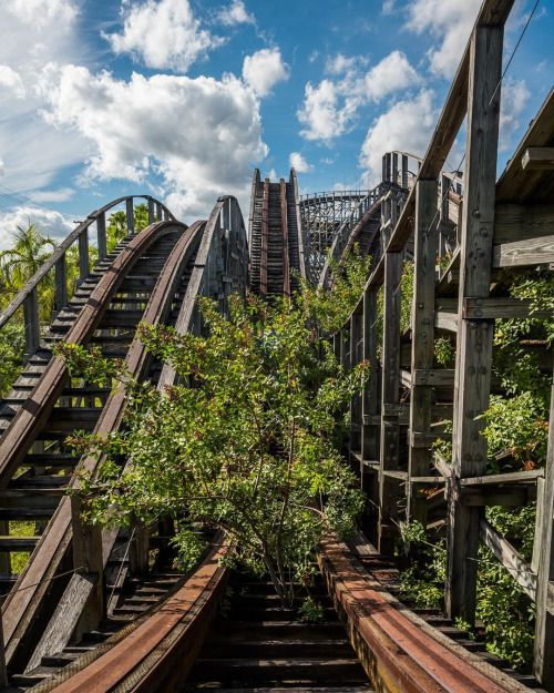 17 Best Images About Abandoned Amusement Parks On