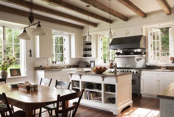 Kitchen - Residence along the Hudson - John B. Murray Architect - Interior Design by Sam Blount - Martha Baker Landscape Design - Photography by Durston Saylor