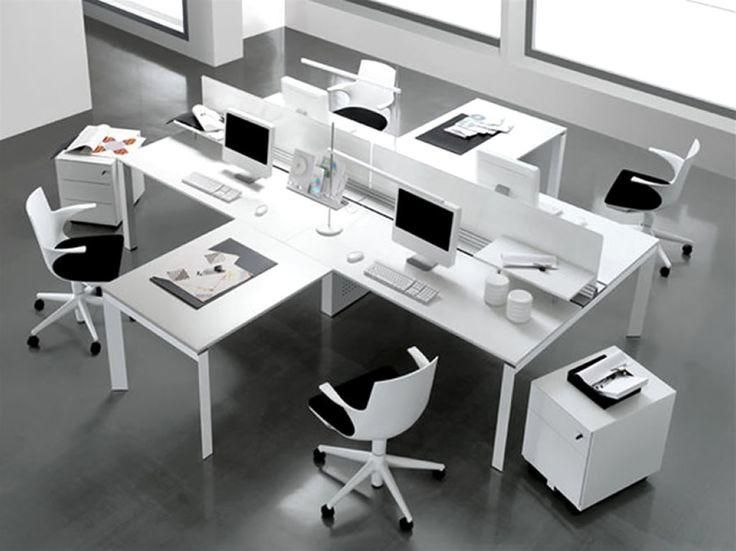 Office Desk Layout Ideas For Better Functionality Cool Office Modern Office Furniture Design Office Furniture Design Commercial Office Design