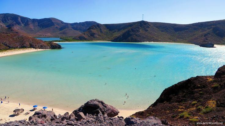 Balandra Beach, La Paz, Baja California Sur, Mexico Find Super Cheap International Flights ✈✈✈ https://thedecisionmoment.com/