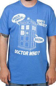 Knock Knock Doctor Who Shirt