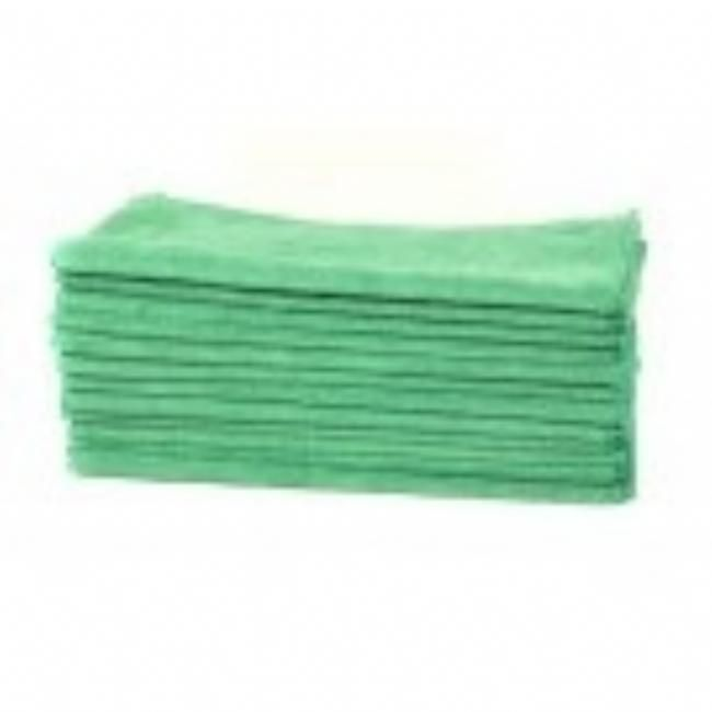 Workhorse Microfiber Towel Green Exterior (12 stk) | Perfectwheels