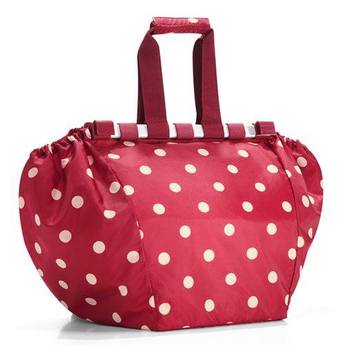 Reisenthel Easy Shopping Bag Ruby Dots v cool!