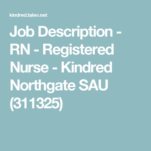 17 best ideas about Nurse Job Description – Rn Job Description