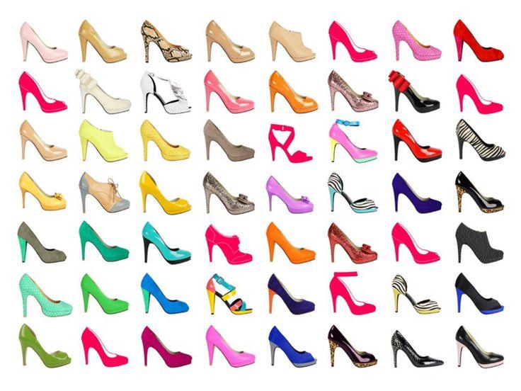 Bunch of high heels
