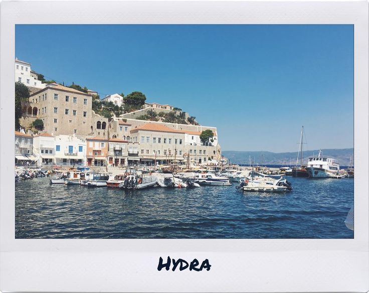 Postcard..   •  •  •  •  •  •  #polaroid #photography #travel #island #greece #vsco #summer #hydra #talkingaboutf