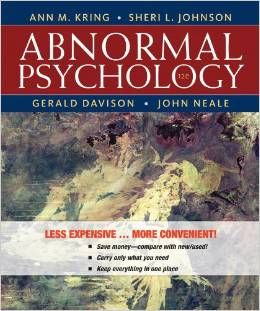 Test Bank Abnormal Psychology 12th Edition by Ann M. Kring