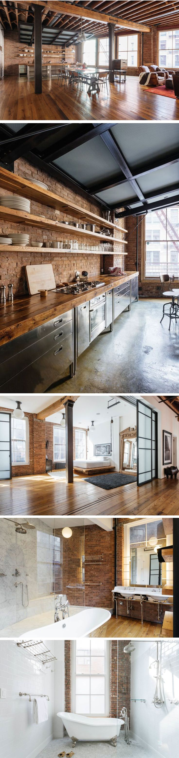Ideal propuesta para espacios grandes tipo loft, donde la elegancia y lo práctico se aunan para dar este maravilloso espacio de disfrute. Me gusta!!!