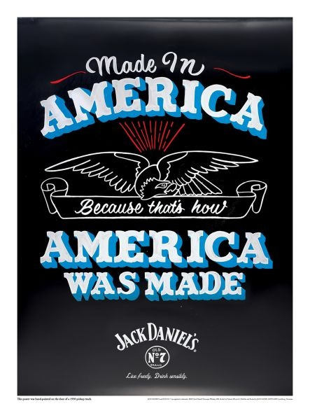 Awesome AD - Jack Daniel's campaign: Observed, Graphics Design, Jack O'Connell, American Made, Jackdaniel, Independence Day, Jack Daniels, Prints Ads, Patriots Poster