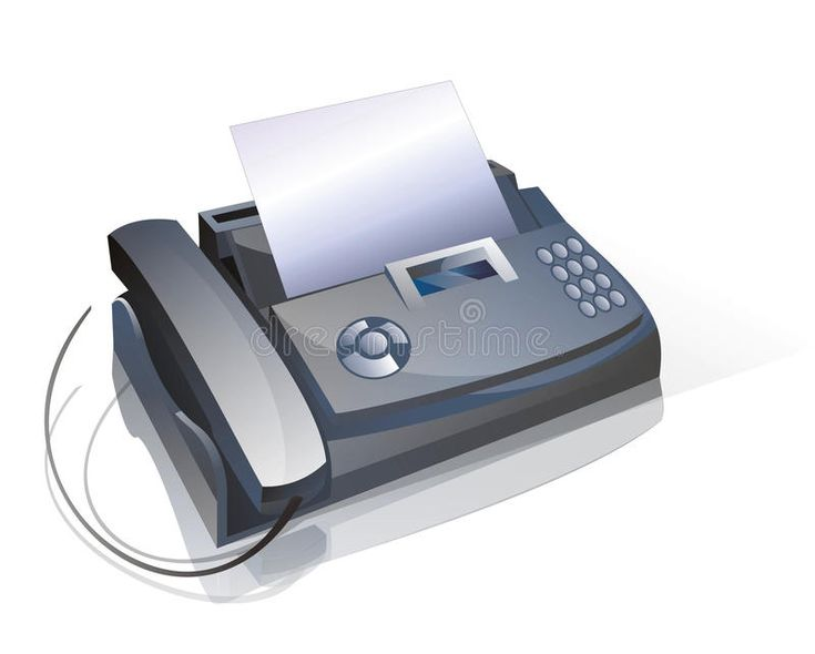 Fax and phone device used in offices affiliate