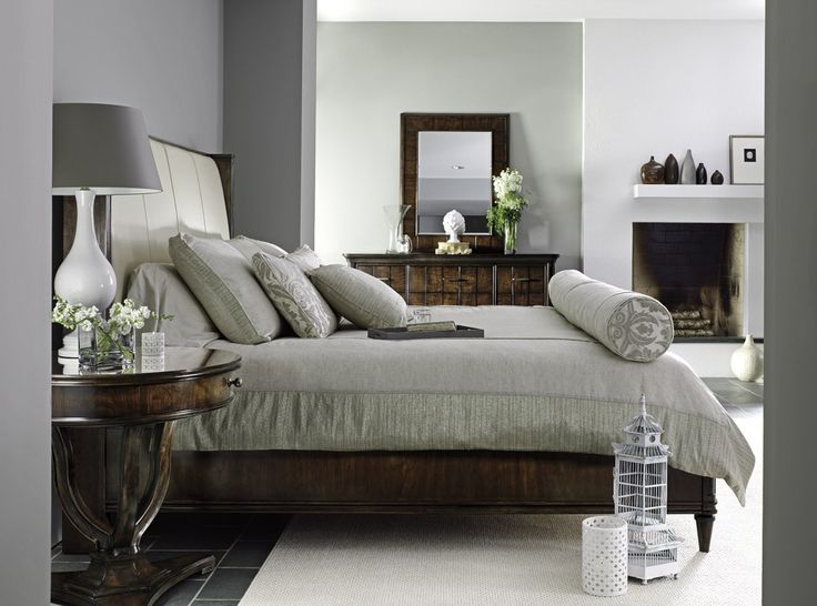 Stanley Furniture Avalon Heights Upholstered King Bed