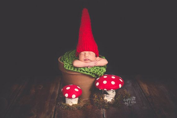 Hey, I found this really awesome Etsy listing at https://www.etsy.com/listing/101545417/baby-hat-newborn-hat-baby-gnome-hat