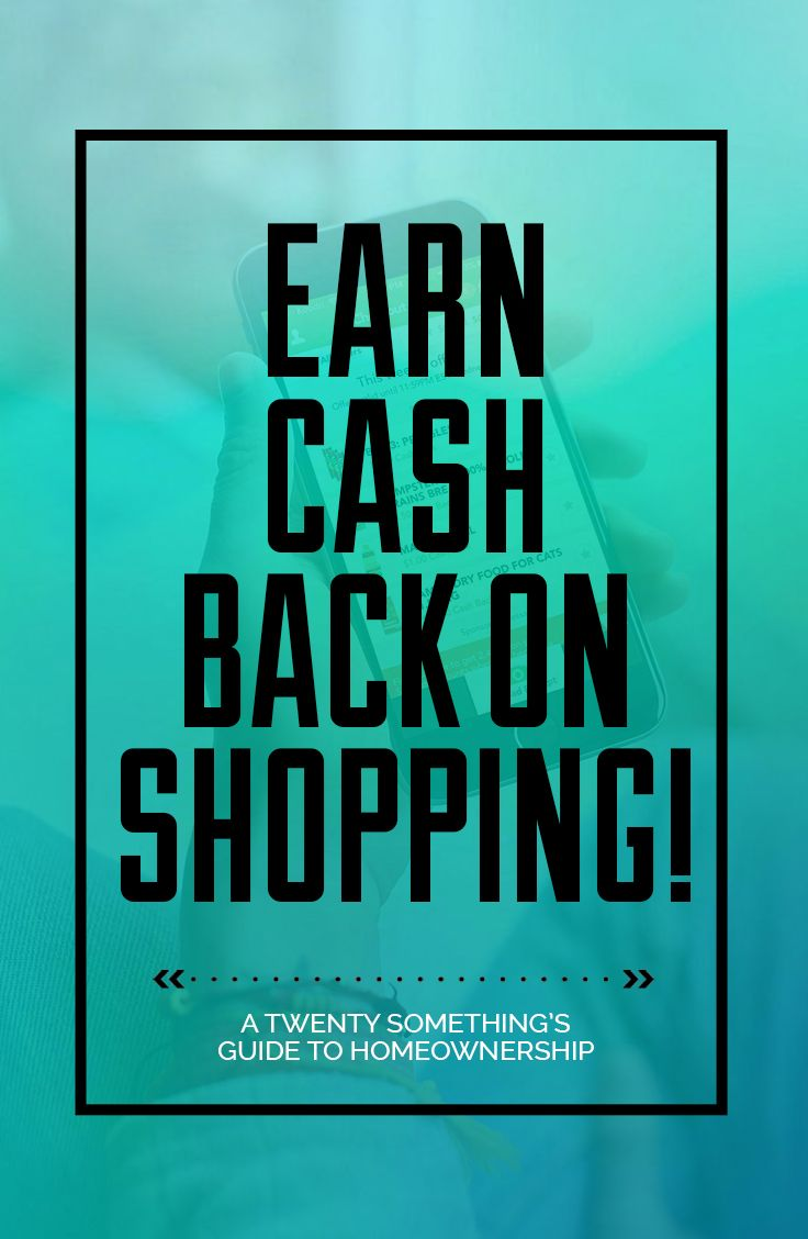 From TWOJs Decor, a Twenty Somethings Guide to Home Ownership shares how to use apps to earn cash back on your necessary shopping.