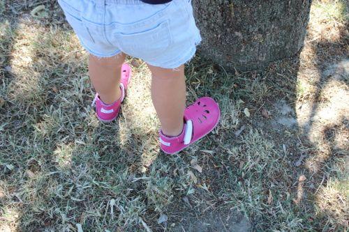 Detské indoor/outdoor topánočky slovenskej značky Baby Bare Shoes sú vyrobené z mäkkej talianskej kože. Topánočky Front Perforation majú perforáciu v