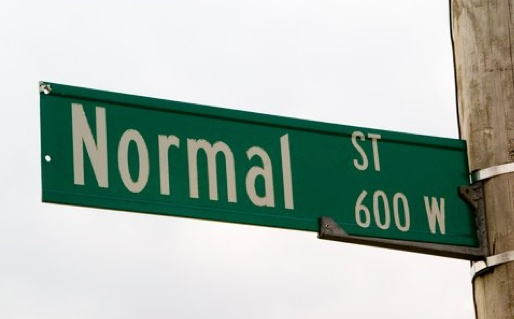 """What is """"normal"""" anyway? I've been giving this concept some thought, since my husband Myles and I sold all our possessions, bought a motorhome, and embarked upon a work-while-wandering travel adventure around the United States.: Thoughts, Families Living, Crazy Ideas, Normal 3 3, Street Signs, Videos I M Pretty, I'M"""