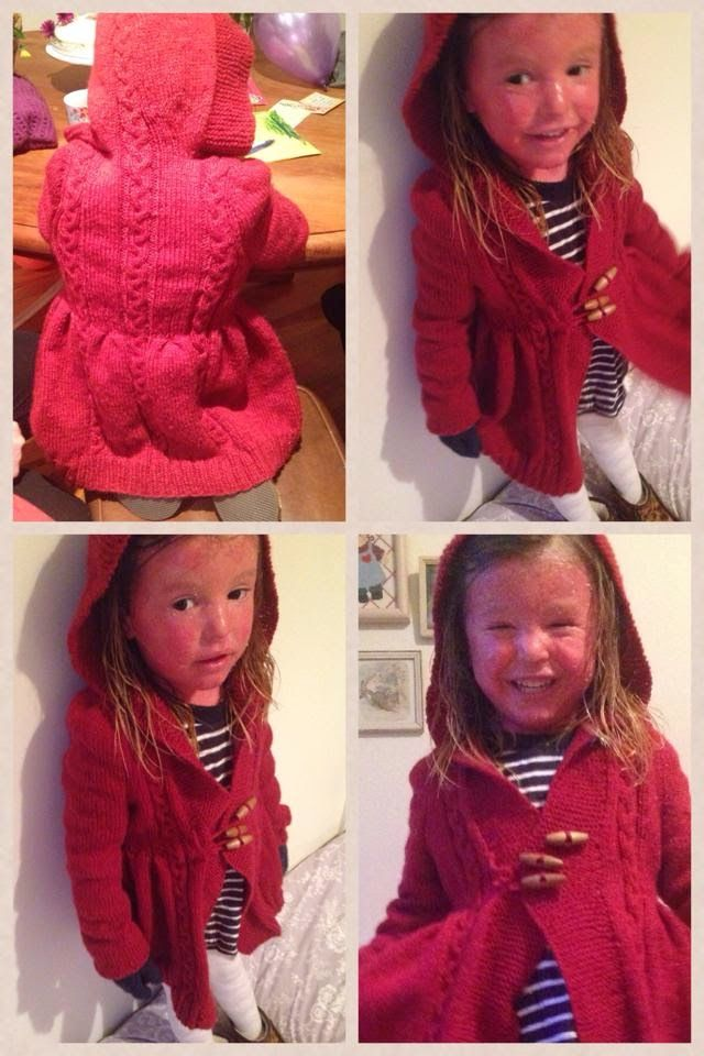 Shannon's Crafts and other stuff: Red-Riding-Hood Coat