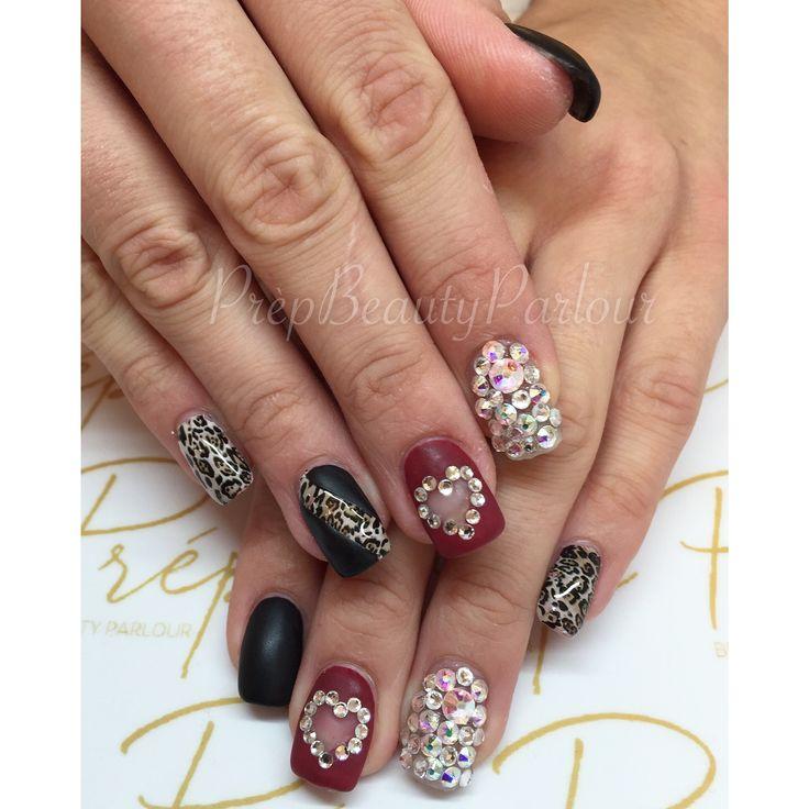 20 best nail art images on pinterest nailart nail art and eyes fun cheetah print nail art with swarovski stones by yana prpbeautyparlour nailart vancity prinsesfo Image collections