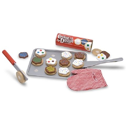 Slice and Bake Cookie Set - Kids Wooden Play Food by Melissa & Doug Available at Kids Mega Mart Shop Australia