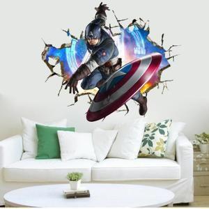 Sticker Avengers Capitaine America arrive