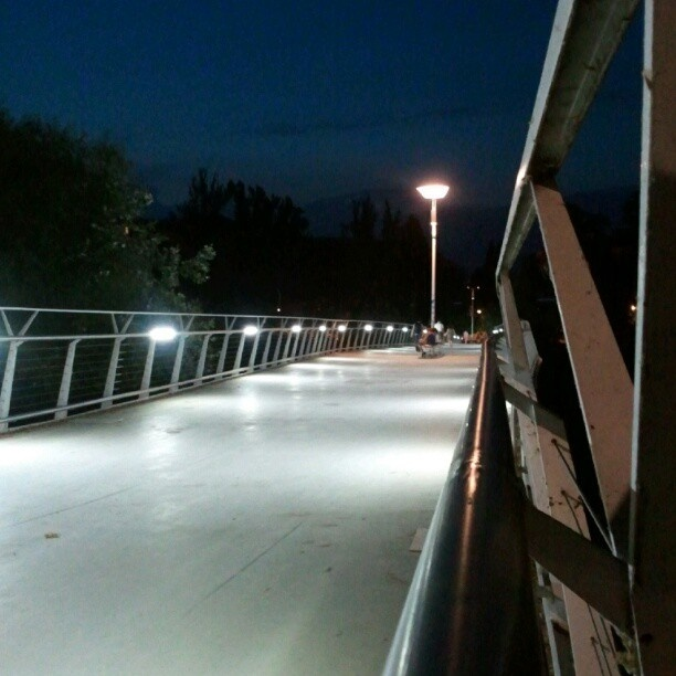 Ponte ciclo-pedonale corso Casale - Torino