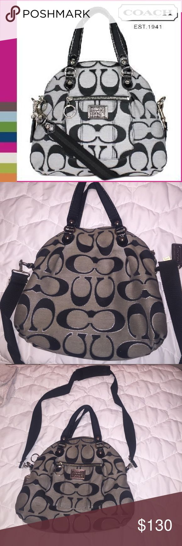 Cross body Coach Purse 👛 In great condition !!!! No rips !!! Im just trying to clean my purse collection !!! Coach Bags Crossbody Bags