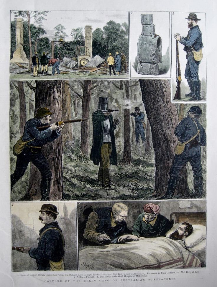 Capture of the Kelly Gang.