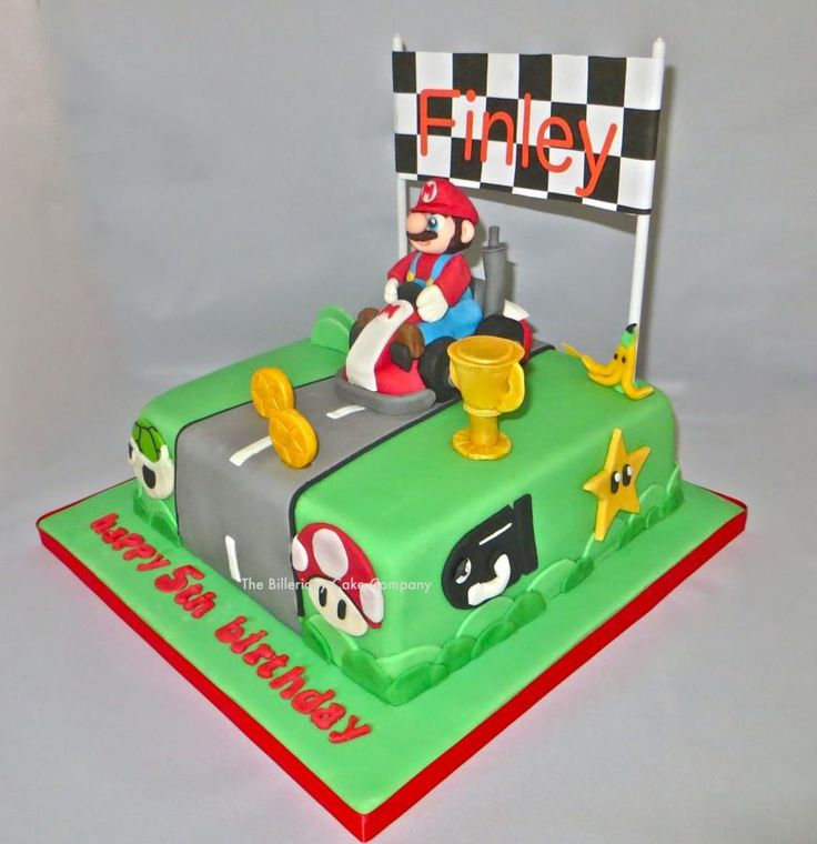 35 Best Mario Kart Party Images On Pinterest Birthday
