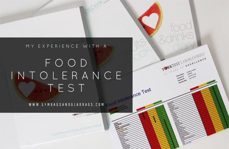 YorkTest food intolerance test results