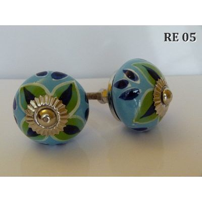 Tiradores De Ceramica Manijas Para Puertas Y Cajones Deco - $ 59,99 en MercadoLibre