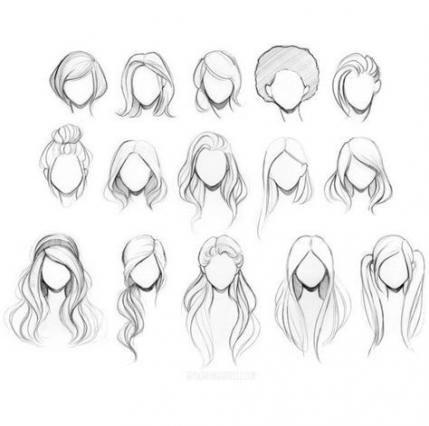 25 idées de dessin de cheveux Afro Illustrations