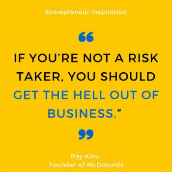 Interesting quote about business from the founder of McDonalds Ray Kroc #business