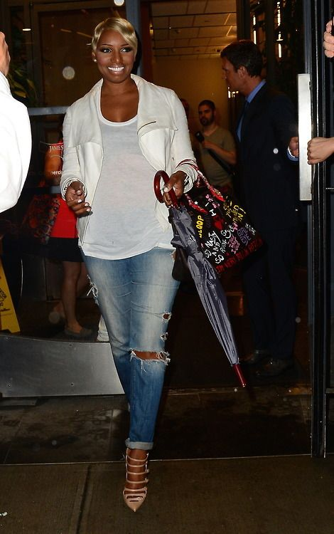 NeNe Leakes. Always killing it with her fashion, those jeans are EVERYTHING!!!
