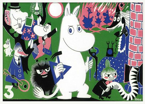 Moomins y little my