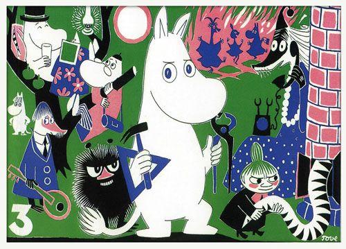Moomins y little my