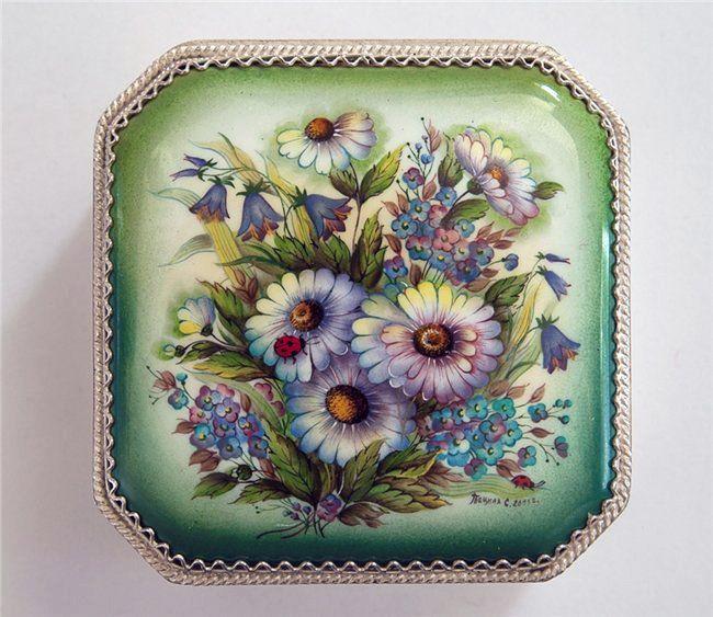 popova-art: Моя коллекция. Ростовская финифть.