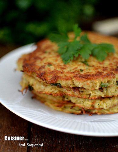 Galettes Araignée de mer - Pomme de terre - - Cuisiner... tout Simplement, Le Blog de cuisine de Nathalie