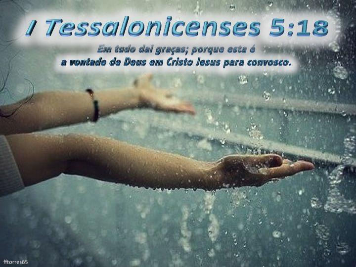 EM TUDO DAI GRACAS - 1 TESSALONICENSES 5:18