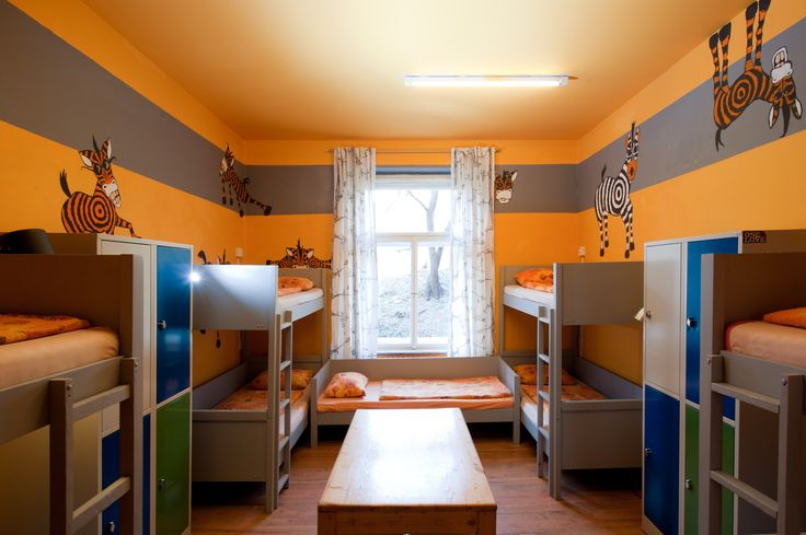 9-bed share dormitory