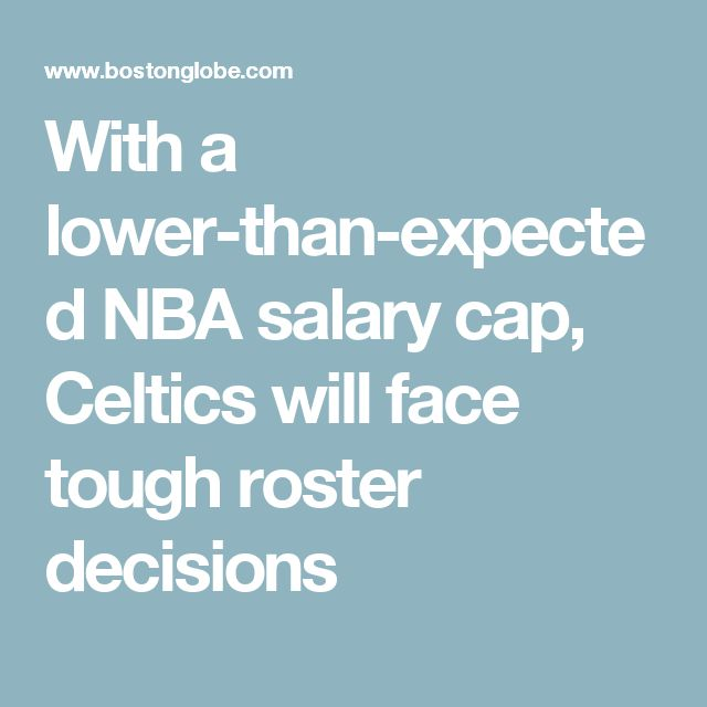 With a lower-than-expected NBA salary cap, Celtics will face tough roster decisions   http://www.meganmedicalpt.com/fmcsa-walk-in-cdl-national-registry-certified-medical-exam-center-in-philadelphia.html